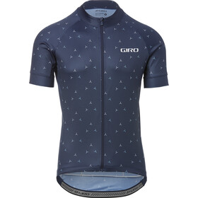 Giro Chrono Sport Maillot de cyclisme Homme, midnight blue turbine